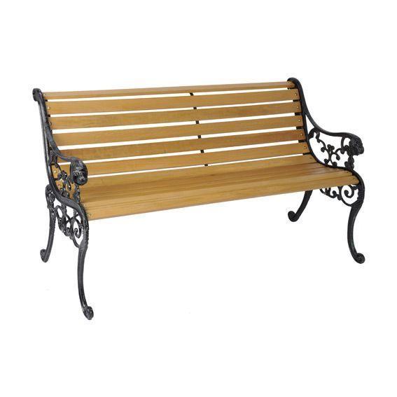 banc de jardin paola naturel banc de jardin eminza. Black Bedroom Furniture Sets. Home Design Ideas