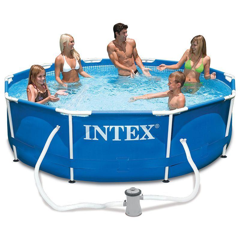 piscine tubulaire ronde metal frame 3 05 x h 0 76 m. Black Bedroom Furniture Sets. Home Design Ideas