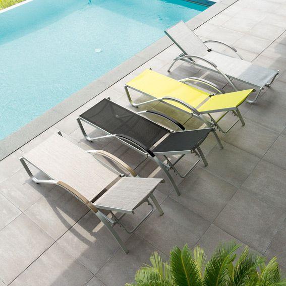 bain de soleil okinawa gris bain de soleil eminza. Black Bedroom Furniture Sets. Home Design Ideas
