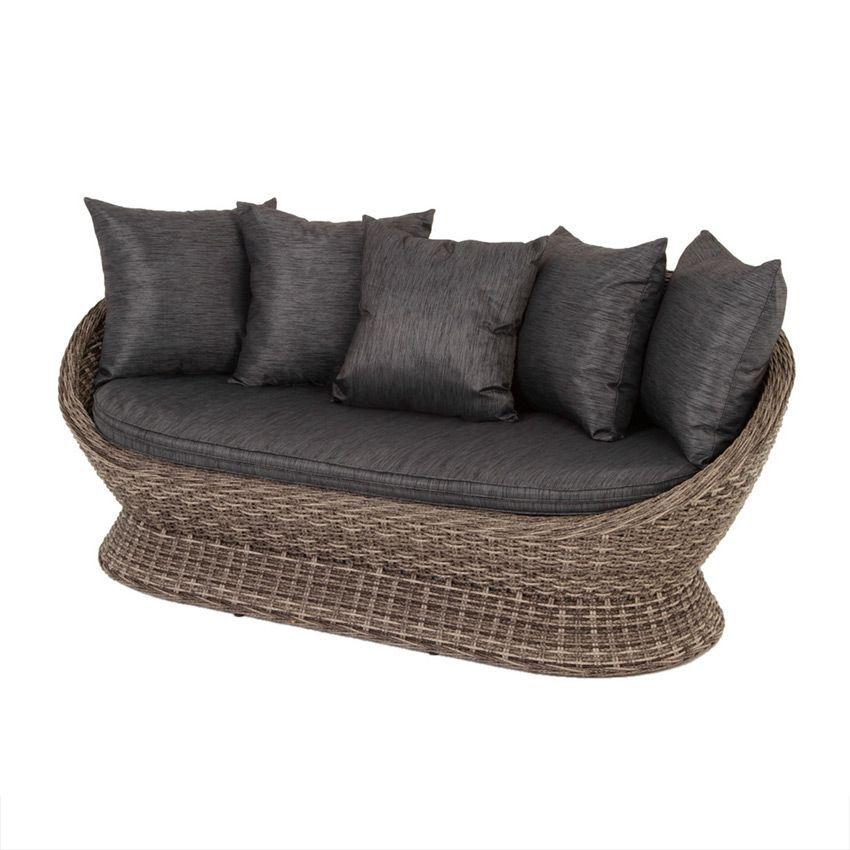 salon de jardin cocoa gris 4 places salon de jardin. Black Bedroom Furniture Sets. Home Design Ideas