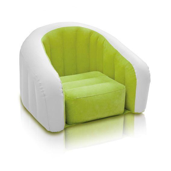 Fauteuil club pour enfant vert mobilier pour enfant eminza - Fauteuil de jardin enfant ...