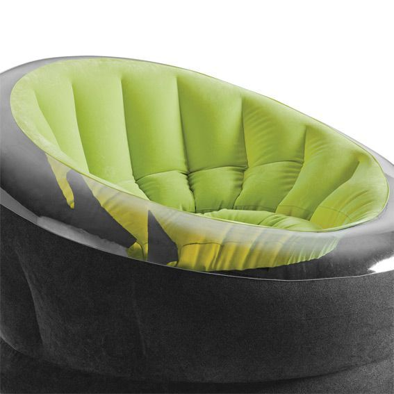 Fauteuil gonflable onyx vert intex piscine spa et for Fauteuil gonflable piscine