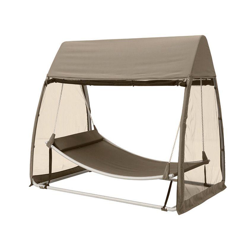 toile de balancelle trinidad taupe structure toile et rideaux eminza. Black Bedroom Furniture Sets. Home Design Ideas