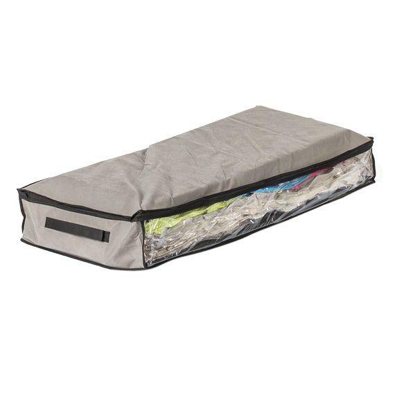 boite rangement plat et sac compresseur linge de lit eminza. Black Bedroom Furniture Sets. Home Design Ideas