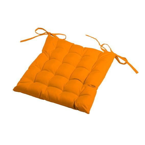coussin de chaise matelass sun orange coussin et housse de protection eminza. Black Bedroom Furniture Sets. Home Design Ideas