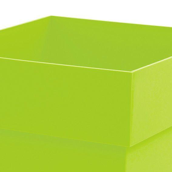 Pot toscane h53 cm en pvc vert anis decoration de - Lambris pvc vert anis ...