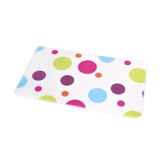 Tapis De Bain Confettis Multicolore Tapis Salle De Bain Eminza - Tapis salle de bain multicolore