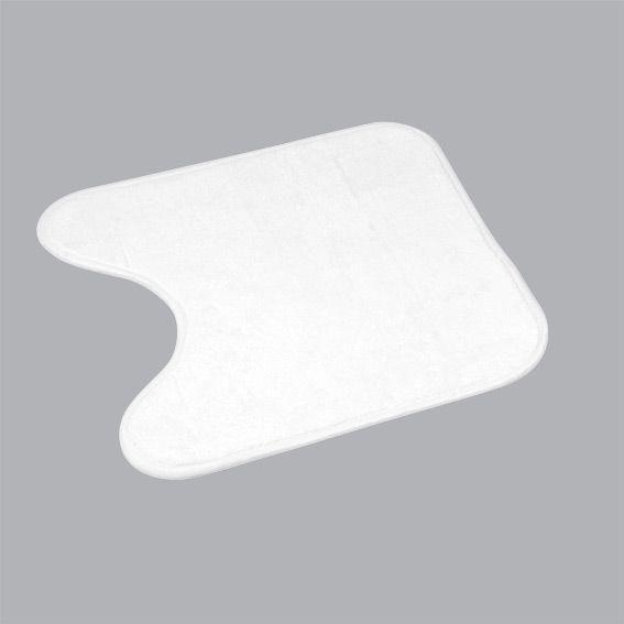 Tapis Contour Wc Vita Blanc - Tapis Contour Wc - Eminza