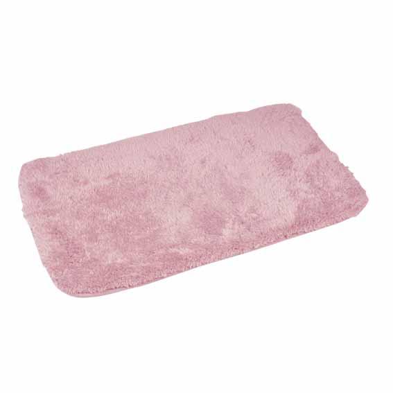 tapis de bain chinchilla rose tapis salle de bain eminza. Black Bedroom Furniture Sets. Home Design Ideas