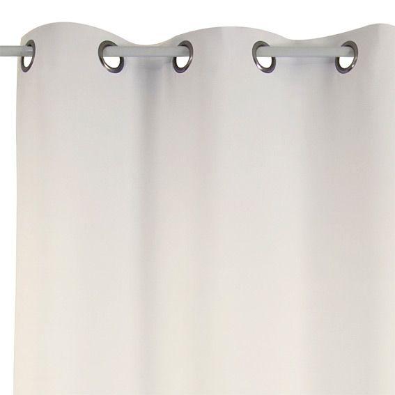 Rideau thermique 140 x h240cm attila ecru rideau thermique et isolant eminza - Tissu isolant thermique ...