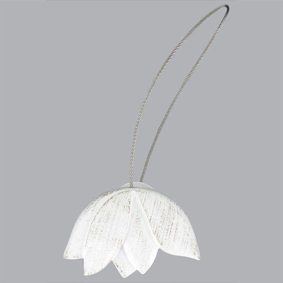 embrasse tulipe blanc embrasse pince et d coration eminza. Black Bedroom Furniture Sets. Home Design Ideas