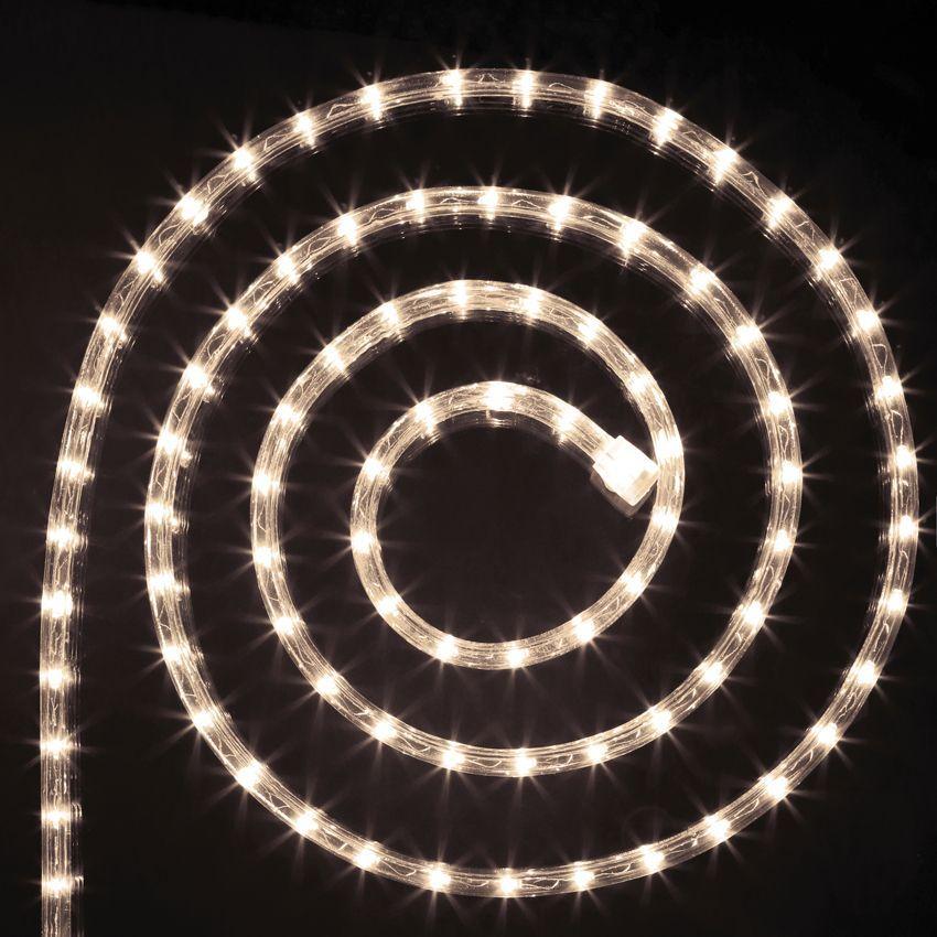 tube lumineux 6 m blanc chaud 108 led guirlande lumineuse eminza. Black Bedroom Furniture Sets. Home Design Ideas