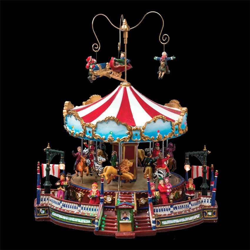 carrousel lumineux et musical jolie folie village de. Black Bedroom Furniture Sets. Home Design Ideas