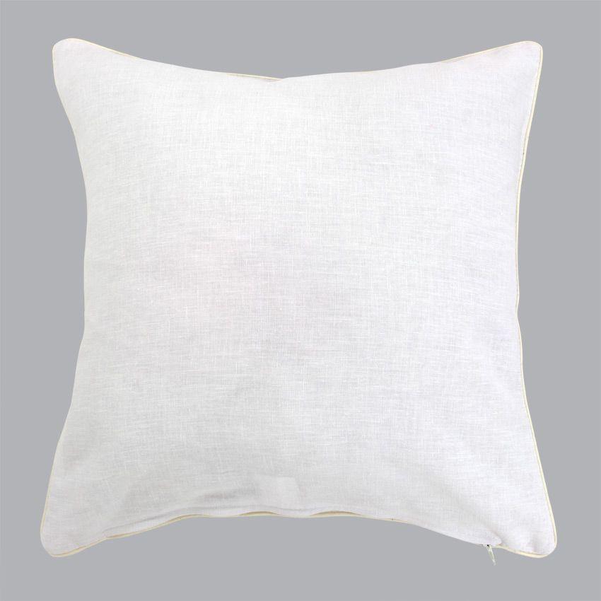 housse de coussin lin sup rieur blanc coussin et housse de coussin eminza. Black Bedroom Furniture Sets. Home Design Ideas