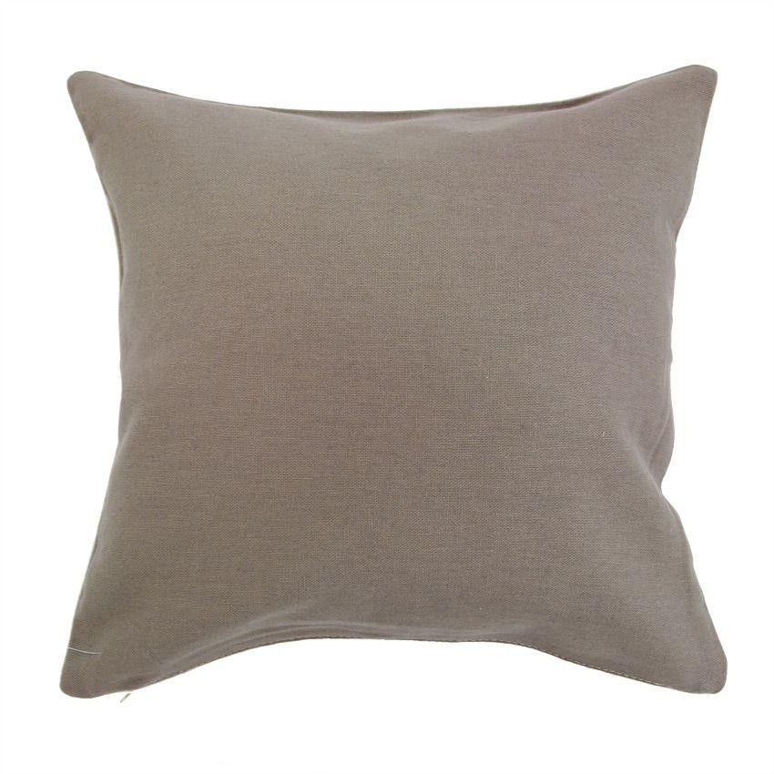 housse de coussin metis lin taupe coussin et housse de coussin eminza. Black Bedroom Furniture Sets. Home Design Ideas