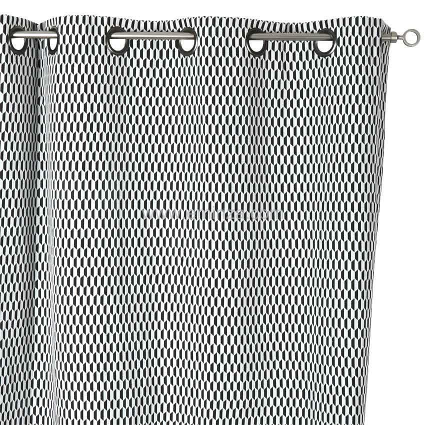 rideau 135 x h260 cm navette rideau tamisant eminza. Black Bedroom Furniture Sets. Home Design Ideas