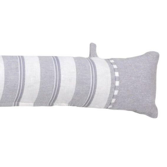 coussin bas de porte alphonsine gris coussin bas de. Black Bedroom Furniture Sets. Home Design Ideas
