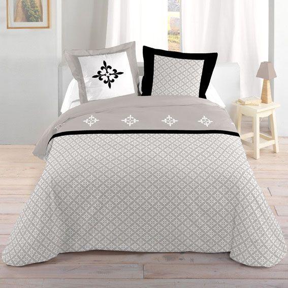 parure de draps 4 pi ces ravenna parure de draps eminza. Black Bedroom Furniture Sets. Home Design Ideas