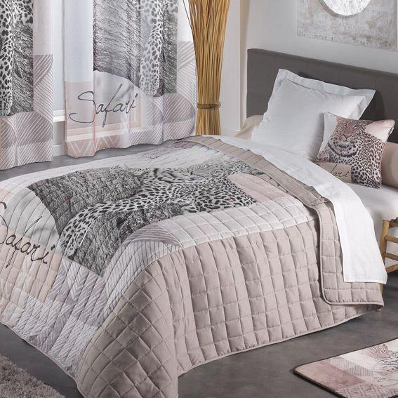 couvre lit 220 x 240 cm matelass gu pards couvre lit boutis eminza. Black Bedroom Furniture Sets. Home Design Ideas