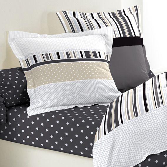 parure de draps 5 pi ces charmant parure de draps eminza. Black Bedroom Furniture Sets. Home Design Ideas
