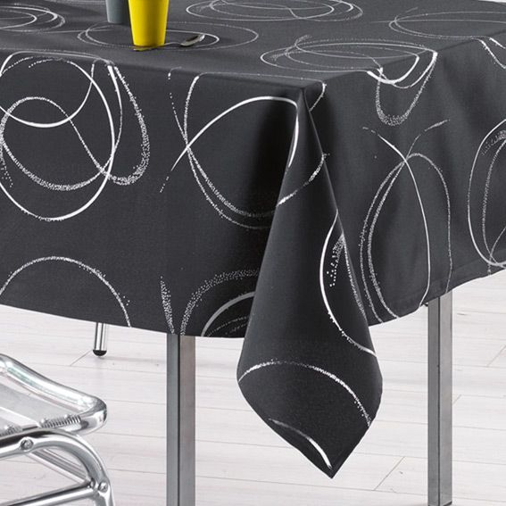nappe gris anthracite table de cuisine. Black Bedroom Furniture Sets. Home Design Ideas
