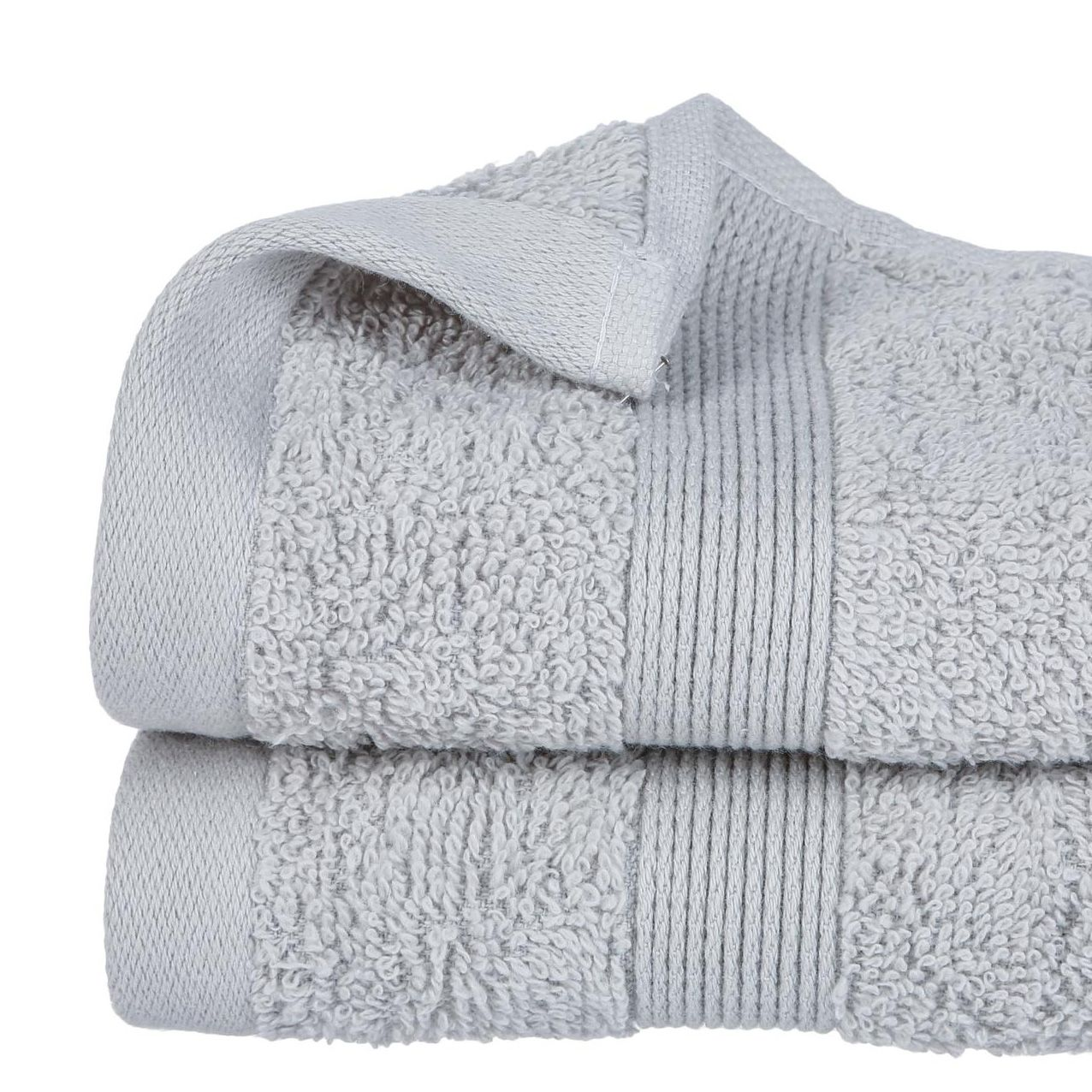 serviette de bain 30 x 50 cm vita gris serviette de bain eminza. Black Bedroom Furniture Sets. Home Design Ideas