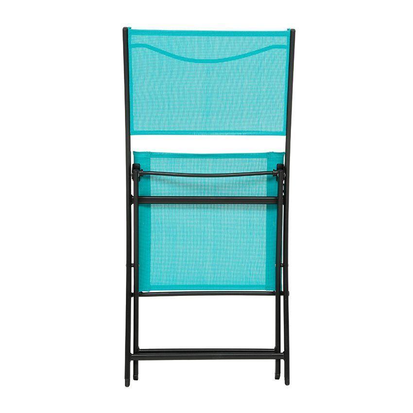 Chaise de jardin modula lagon noir chaise et fauteuil for Chaise de jardin noire