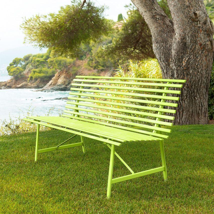 banc de jardin tampa anis banc de jardin eminza. Black Bedroom Furniture Sets. Home Design Ideas