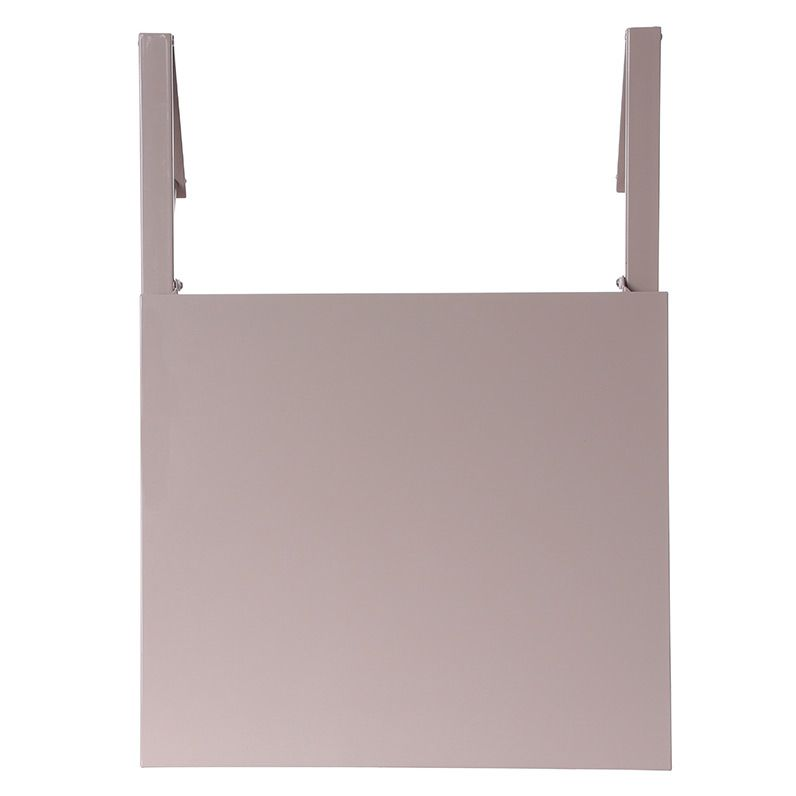 tablette de balcon rabattable baltra 60 x 53 cm taupe table de jardin eminza. Black Bedroom Furniture Sets. Home Design Ideas