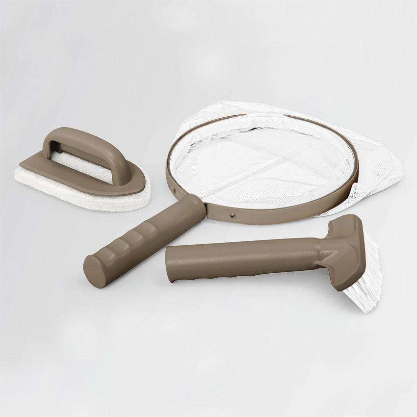 kit d 39 accessoires d 39 entretien pour spa intex spa et. Black Bedroom Furniture Sets. Home Design Ideas