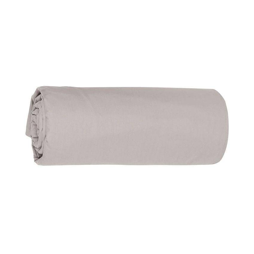 Drap housse 90 cm temple gris drap housse eminza for Drap housse lit rond