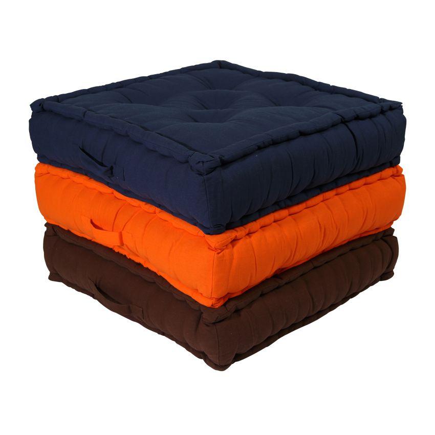 grand coussin de sol 60 cm etna ivoire coussin de sol. Black Bedroom Furniture Sets. Home Design Ideas