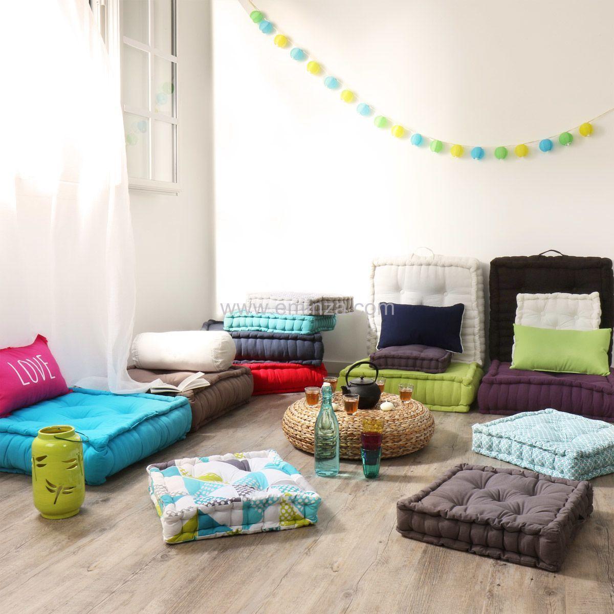 grand coussin de sol 60 cm etna vison coussin de sol. Black Bedroom Furniture Sets. Home Design Ideas