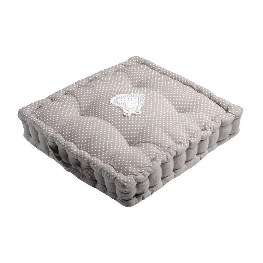 coussin de sol 45 cm verone lin coussin de sol et pouf. Black Bedroom Furniture Sets. Home Design Ideas