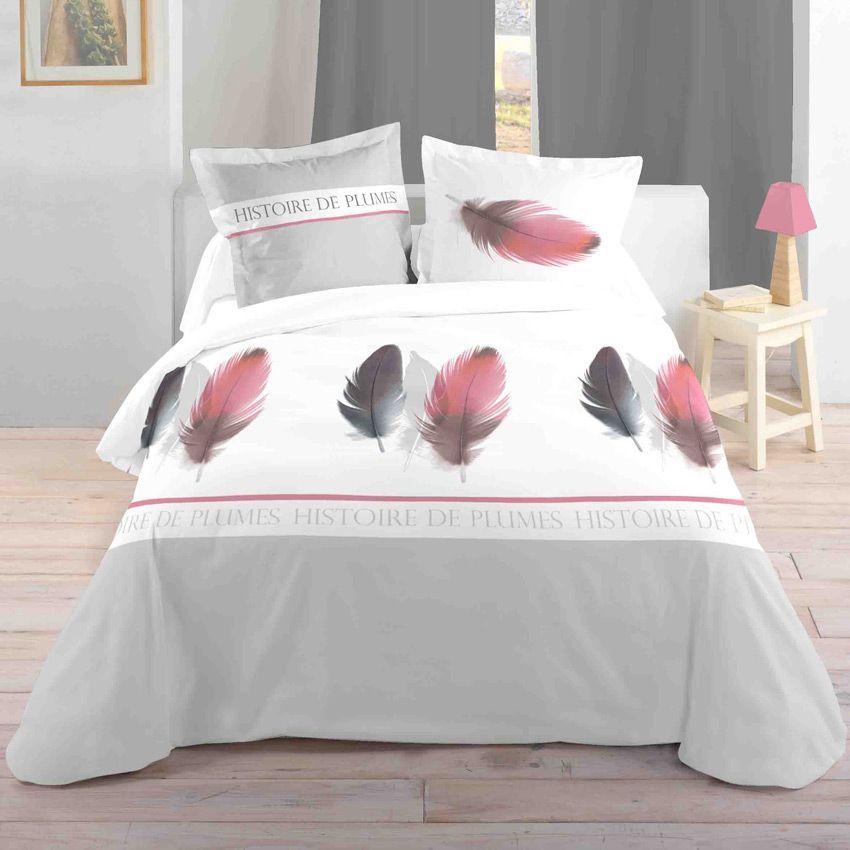 housse de couette et deux taies 240 cm histoire de. Black Bedroom Furniture Sets. Home Design Ideas