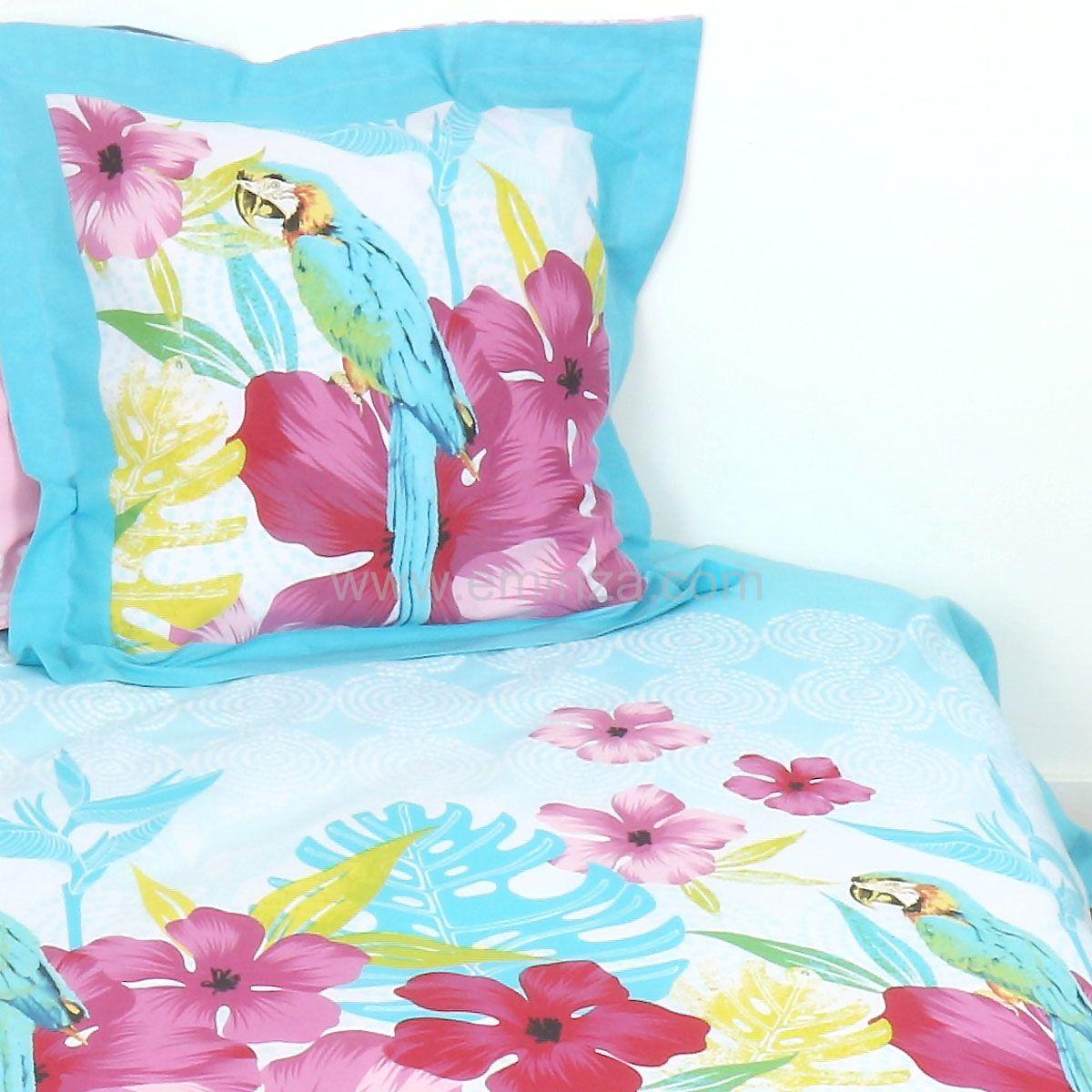 housse de couette et deux taies 260 cm pedro multicolore. Black Bedroom Furniture Sets. Home Design Ideas