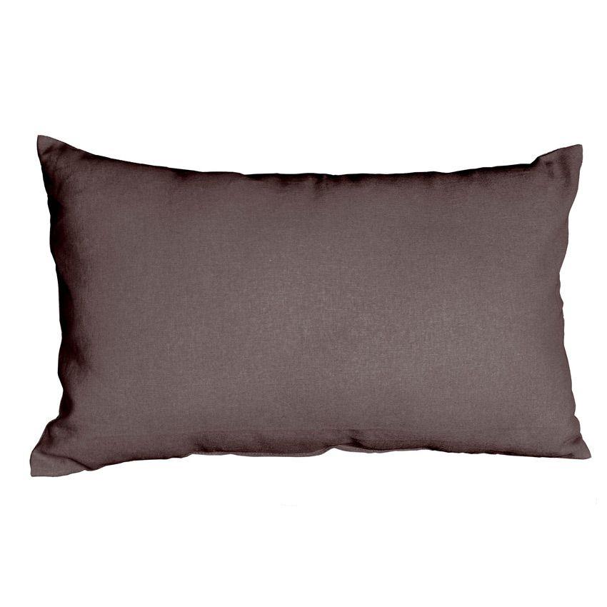 coussin rectangulaire pacifique taupe coussin et housse de coussin eminza. Black Bedroom Furniture Sets. Home Design Ideas