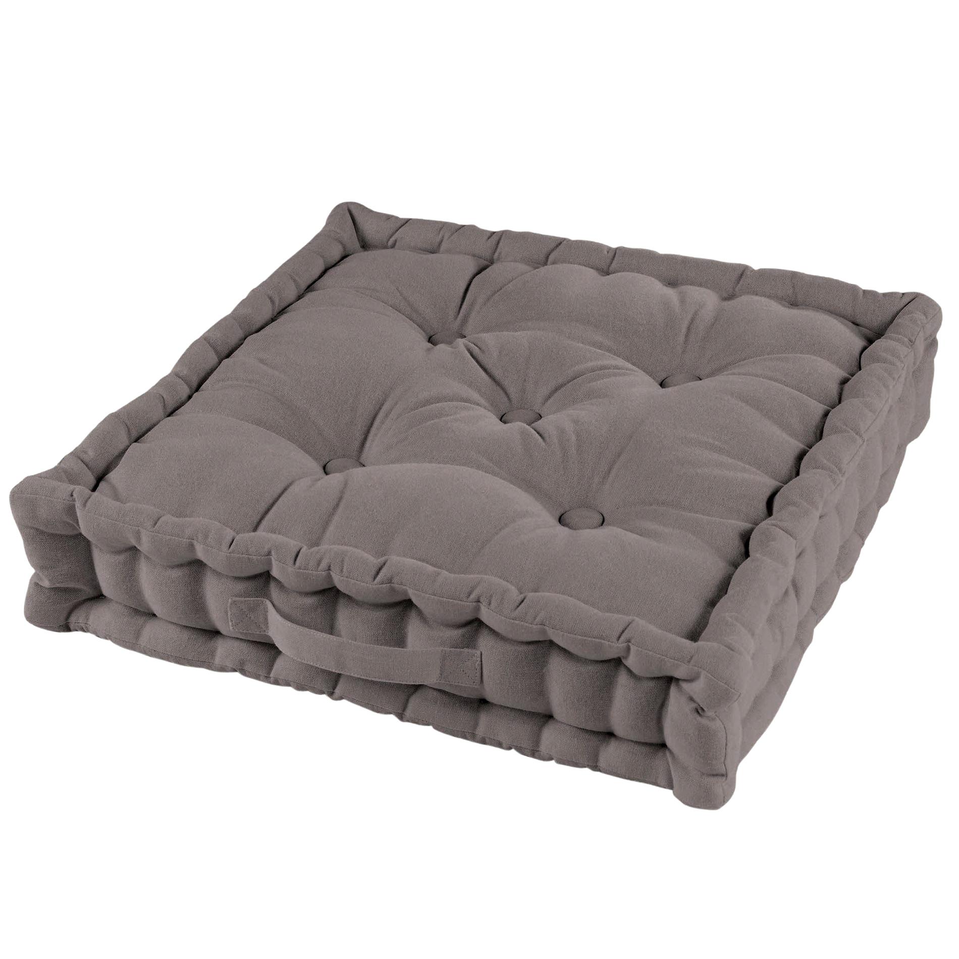 coussin de sol 45 cm pacifique taupe coussin de sol et. Black Bedroom Furniture Sets. Home Design Ideas