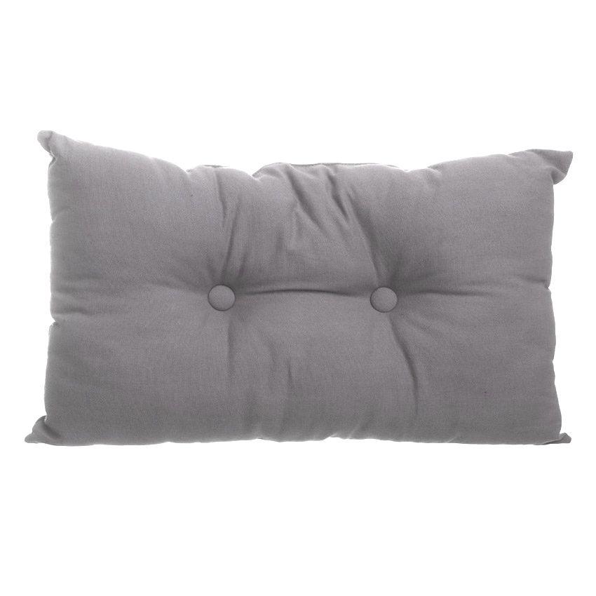 coussin rectangulaire lina gris coussin et housse de. Black Bedroom Furniture Sets. Home Design Ideas
