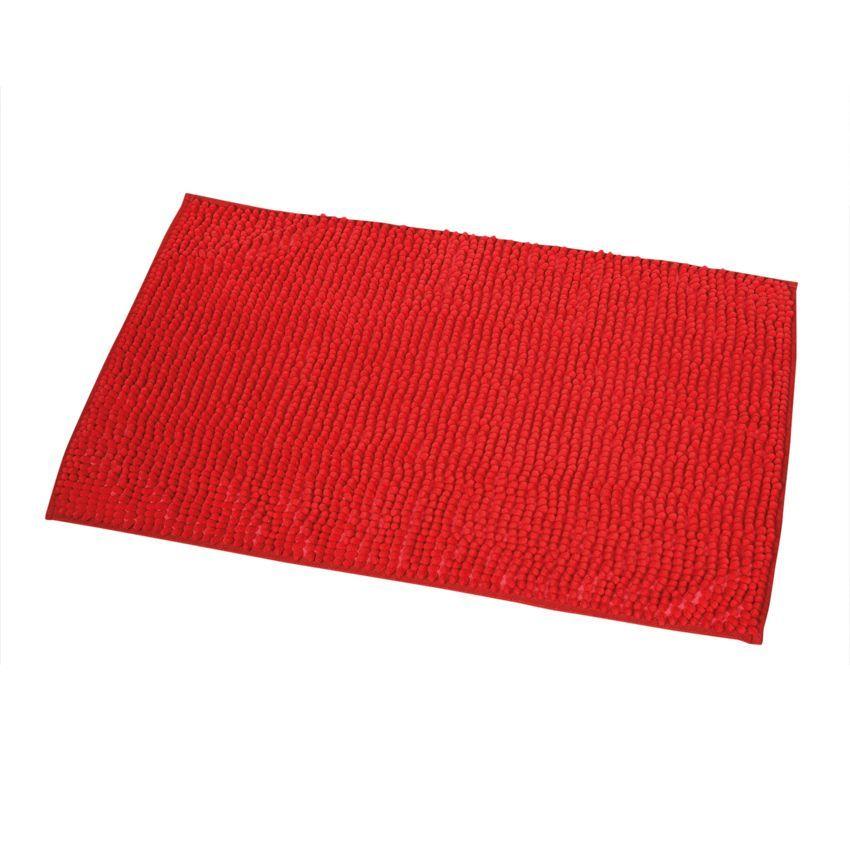 tapis de bain boules rouge tapis salle de bain eminza. Black Bedroom Furniture Sets. Home Design Ideas