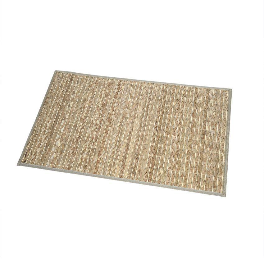 Tapis de bain tress v g tal naturel tapis salle de bain for Tapis bambou salle de bain