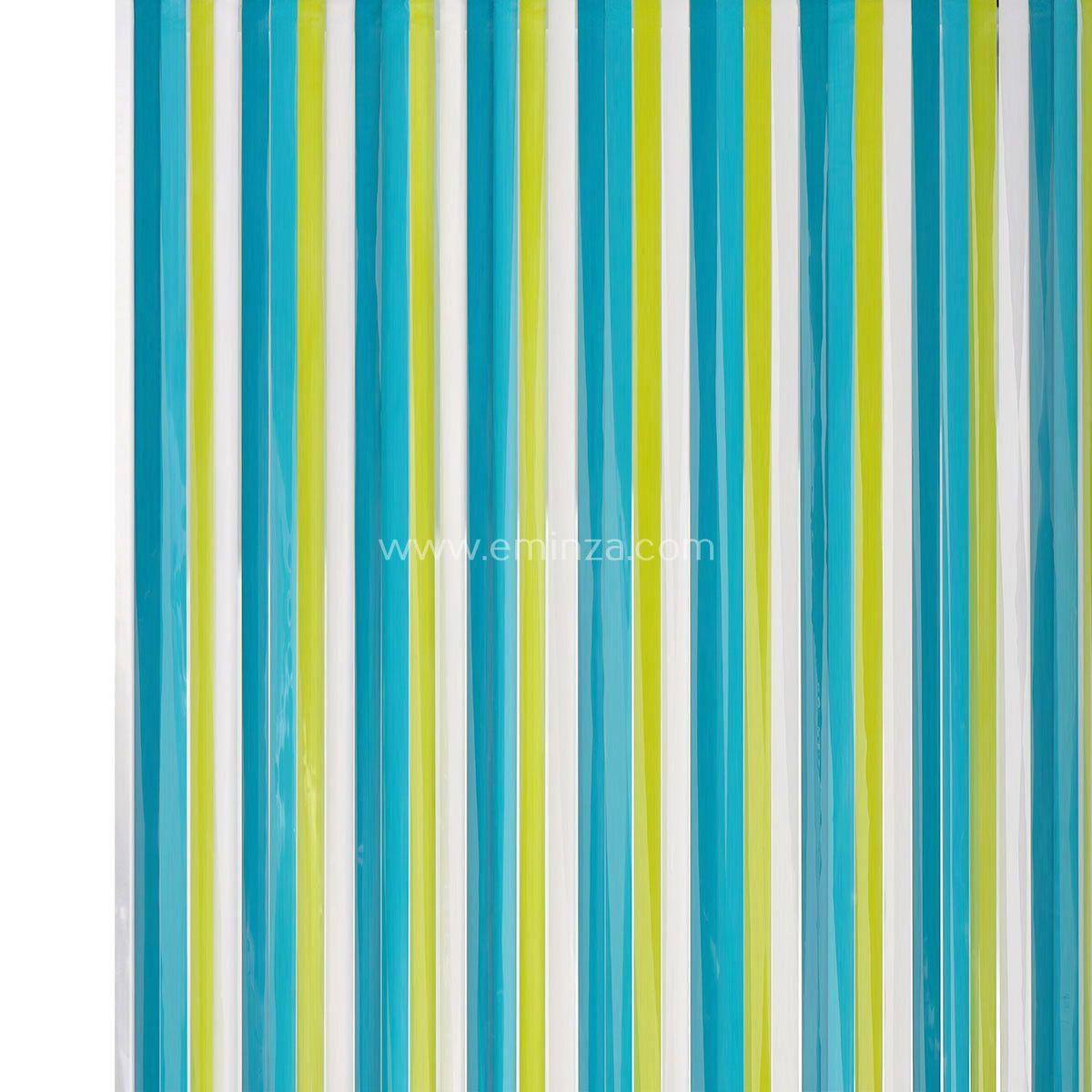 rideau de porte 90 x h220 cm lani res pvc oc an rideau. Black Bedroom Furniture Sets. Home Design Ideas