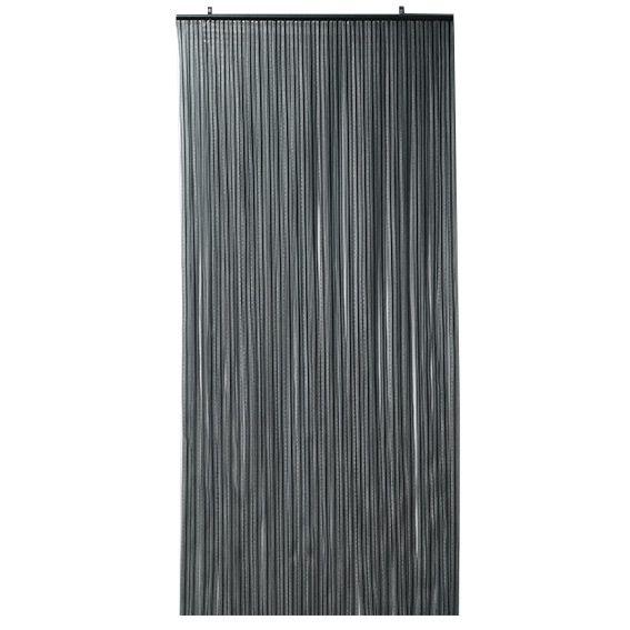 rideau de porte 90 x h210 cm prestige gris rideau de porte eminza. Black Bedroom Furniture Sets. Home Design Ideas