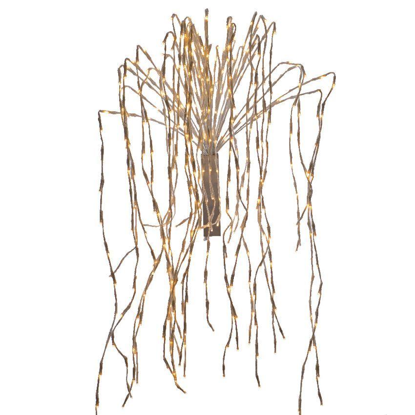 branche lumineuse effet cascade ca h1 m blanc chaud fleur et branche d 39 hiver eminza. Black Bedroom Furniture Sets. Home Design Ideas