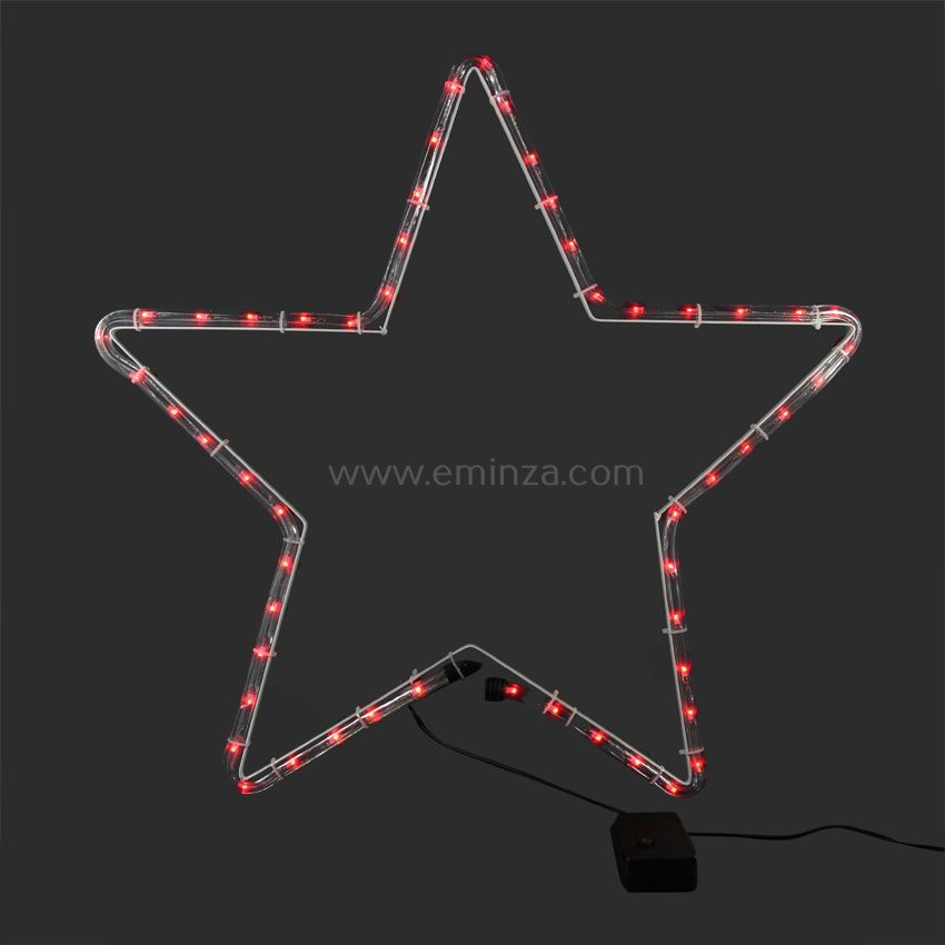 etoile lumineuse samy multicouleur 4 led silhouette lumineuse eminza. Black Bedroom Furniture Sets. Home Design Ideas