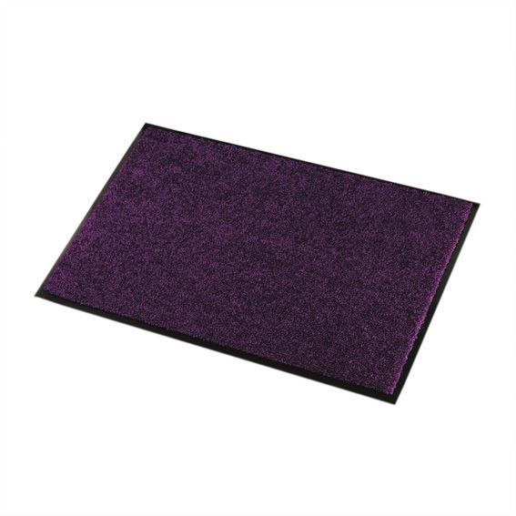 tapis d 39 entr e 60 cm wash clean violet tapis d. Black Bedroom Furniture Sets. Home Design Ideas