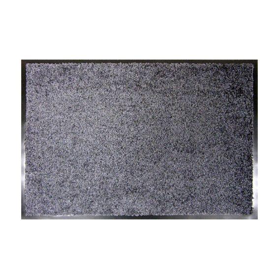 Tapis d 39 entr e 90 cm wash clean gris tapis d 39 entr e - Tapis pour entree de maison ...