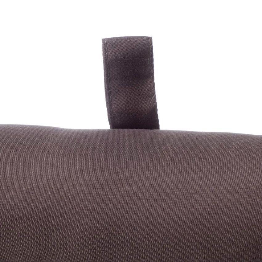 Coussin bas de porte lina taupe coussin bas de porte for Bas de porte tissu