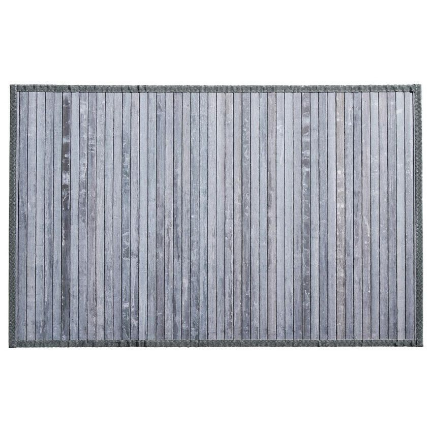 tapis lattes 80 cm bambou gris tapis bambou eminza. Black Bedroom Furniture Sets. Home Design Ideas