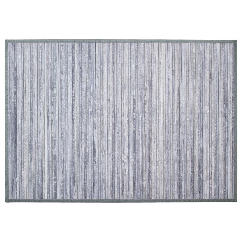 tapis lattes 170 cm bambou gris tapis de chambre salon eminza. Black Bedroom Furniture Sets. Home Design Ideas
